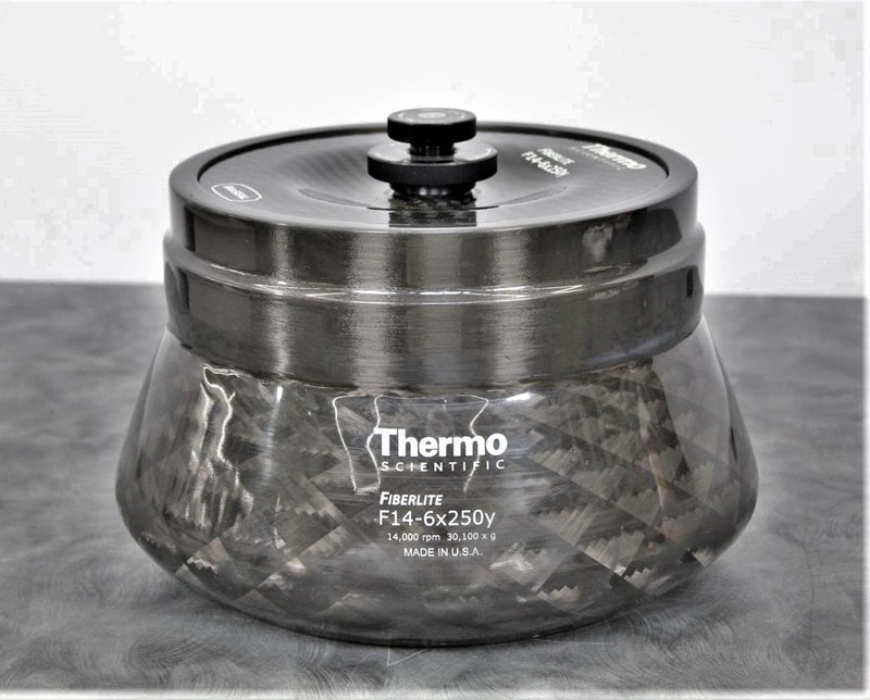 Thermo Scientific Fiberlite F14-6x250Y 6x250mL Rotor Tested at 14,000 RPM