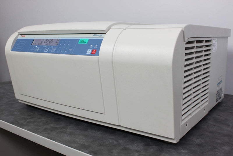 Used: Thermo Heraeus Multifuge X3R Refrigerated Benchtop Centrifuge with TX-1000 Rotor