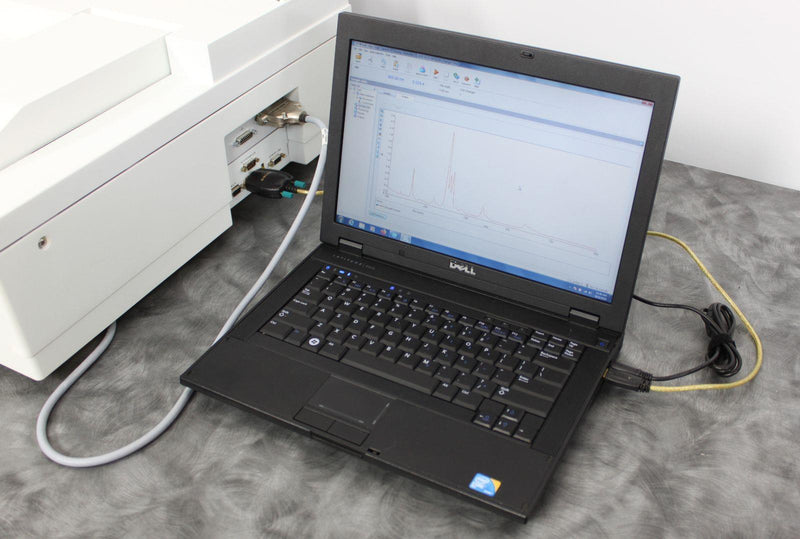 Used: Perkin Elmer Lambda 25 UV/Vis Spectrophotometer L600000B w/ 13+1 Cell Changer