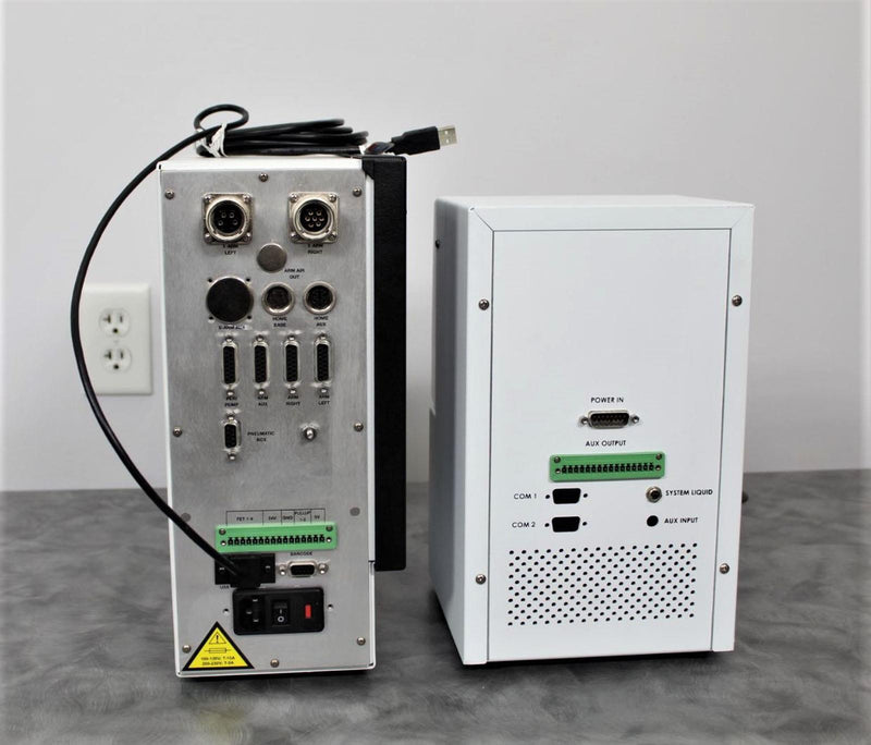 2014 PerkinElmer PeriPump 501RL2 for 2.4mm WT Tube w/Lockable Guard & Controller