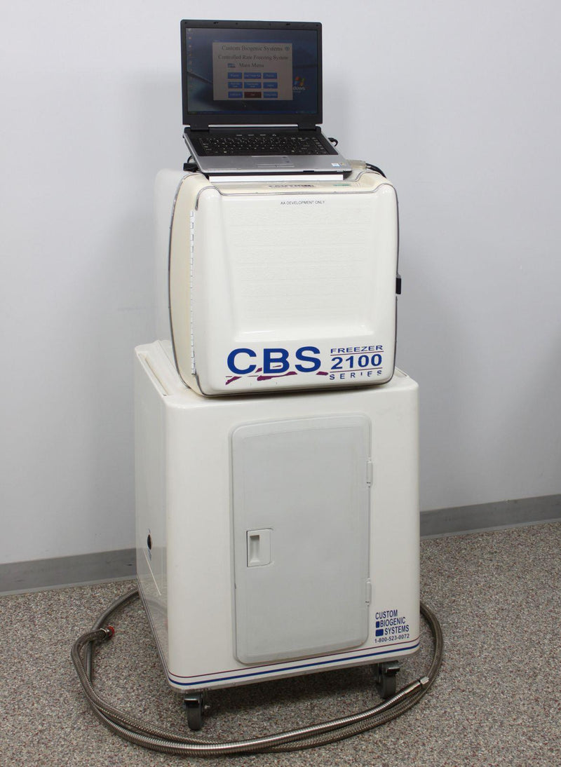 Used: Custom BioGenic Systems CBS 2100 Series Controlled Rate Freezer Cryogenic