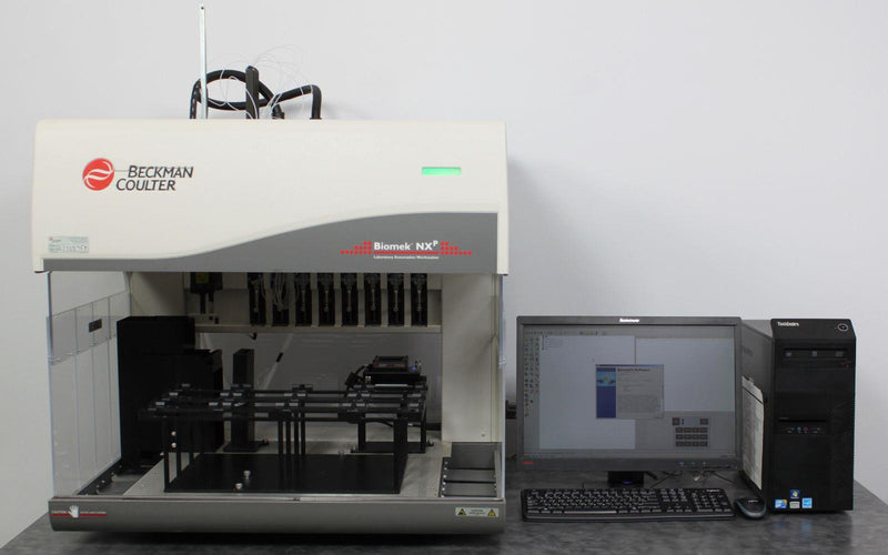 Used: Beckman Coulter Biomek NXp A31840 Automated Liquid Handling Workstation