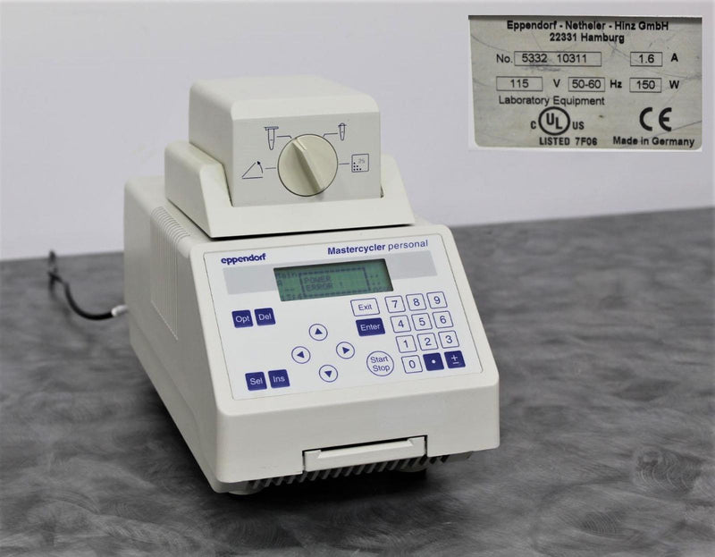 Eppendorf 5332 Mastercycler Personal PCR for Parts or Repair