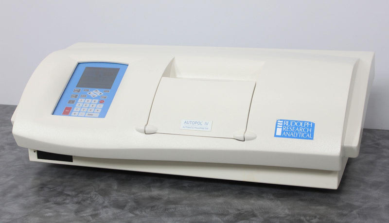 Used: Rudolph Research Analytical Autopol IV Automatic Polarimeter A21202-T APIV/6W