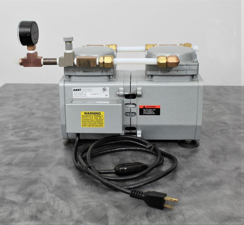 Gast DAA-V716-EB High Capacity Vacuum Pump with 90-Day Warranty
