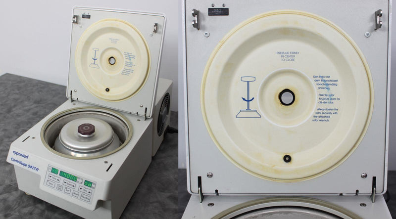 Used Guaranteed: Eppendorf 5417R Refrigerated Benchtop Centrifuge w/ F 45-30-11 Rotor & Warranty
