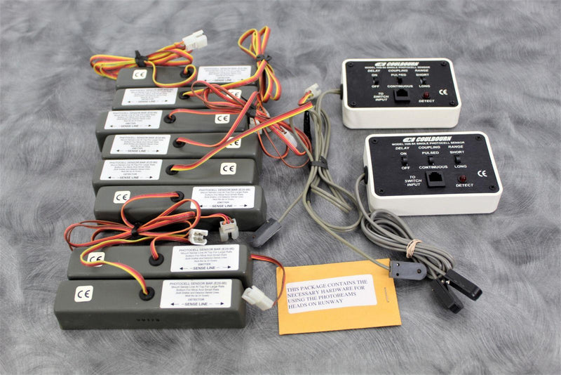 Used: Lot of 10 Coulbourn Instr. Photocell Sensors 8) Bars E20-95 & 2) Singles H20-94