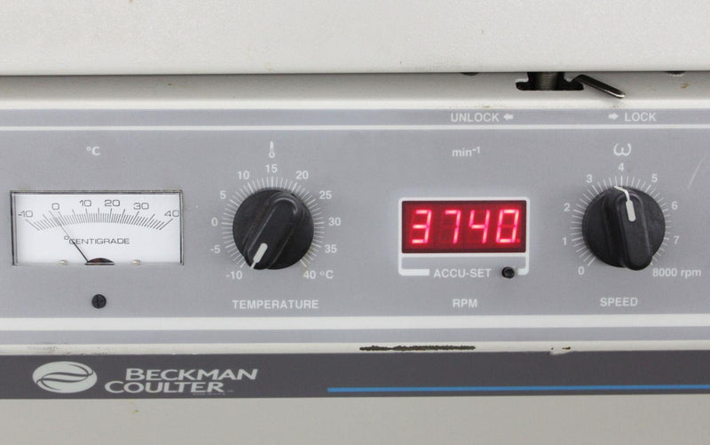 Used Guaranteed: Beckman Coulter Allegra 6R Refrigerated Benchtop Centrifuge 366816 w/ Warranty