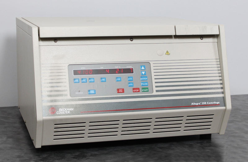 Used Guaranteed: Beckman Coulter Allegra 25R Refrigerated Benchtop Centrifuge 369434 w/ Warranty