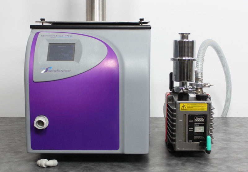 NLS Certified: VirTis SP Benchtop Pro with Omnitronics BTP-9ELEVW Freeze Dryer Lyophilizer