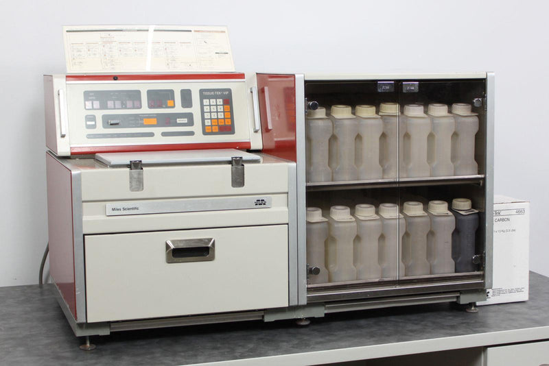 Used Guaranteed: Miles Sakura Tissue-Tek VIP 2000 Tissue Processor Model 4618B w/ Warranty