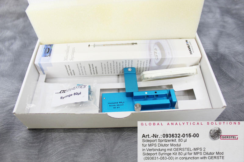 New/Other: CTC-Agilent-Gerstel Gas Chromatography Dilutor Module & Accessories w/Warranty