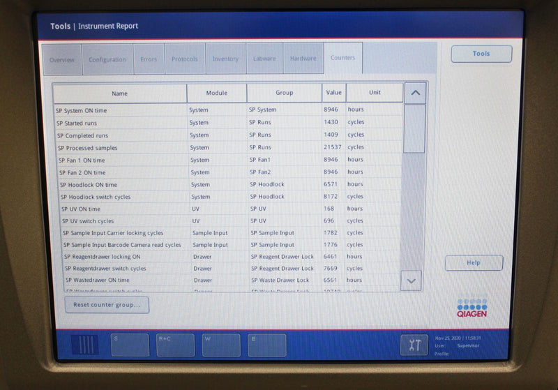 Used Guaranteed: QIAGEN QIAsymphony SP Sample Preparation Fully-Automated RNA DNA Purification