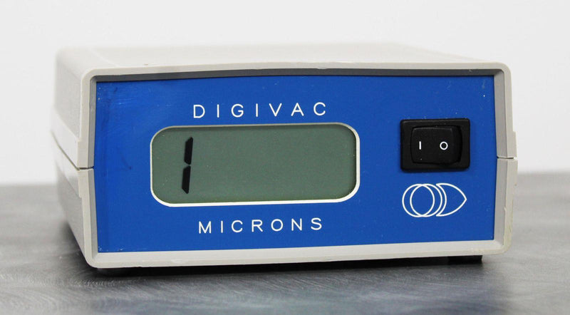 DigiVac Model 100 Digital Vacuum Gauge with 90-Day Warranty For Sale