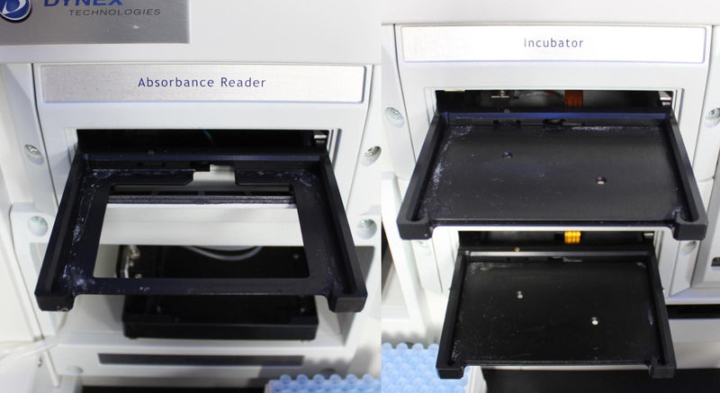 Dynex DSX 4-Plate Automated ELISA Processing Immunoassay w/ Revelation DSX v6.24 Zoomed In