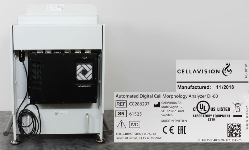 Buy a Used Sysmex Cellavision DI-60 Automated Digital Cell Morphology Analyzer CC286297