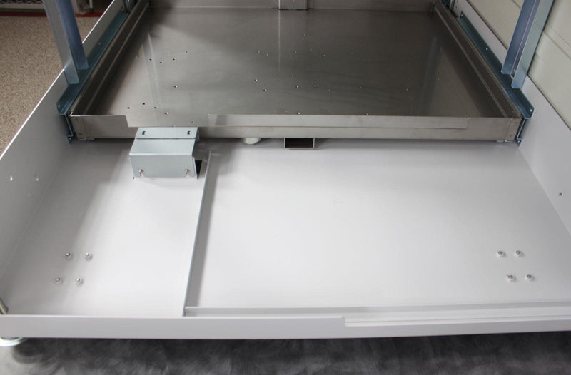 Used Sysmex WG-31 Storage Cabinet Drawer for Hematology/Biological Fluid Processing Up Close
