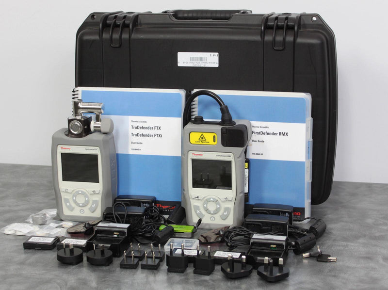 Used Thermo FirstDefender RMX & TruDefender FTX Handheld Chemical Detection Analyzer