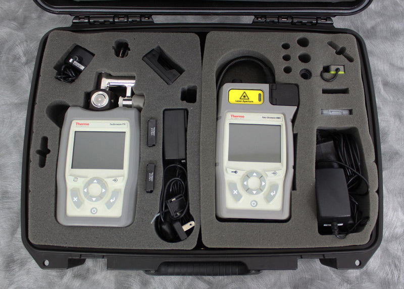 Used Thermo FirstDefender RMX & TruDefender FTX Handheld Chemical Detection Analyzer For Sale