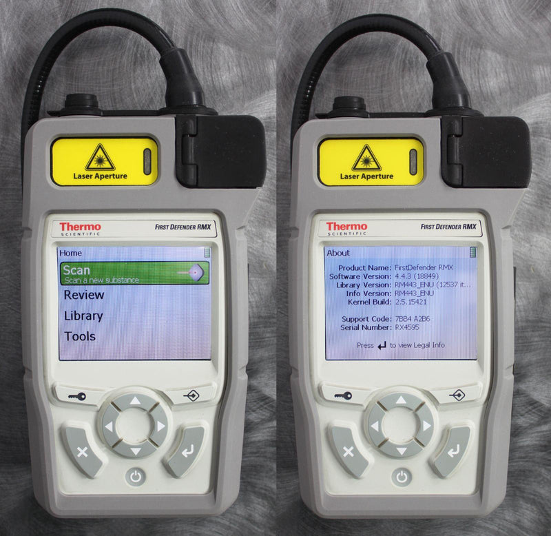 Thermo FirstDefender RMX & TruDefender FTX Handheld Chemical Detection Analyzer