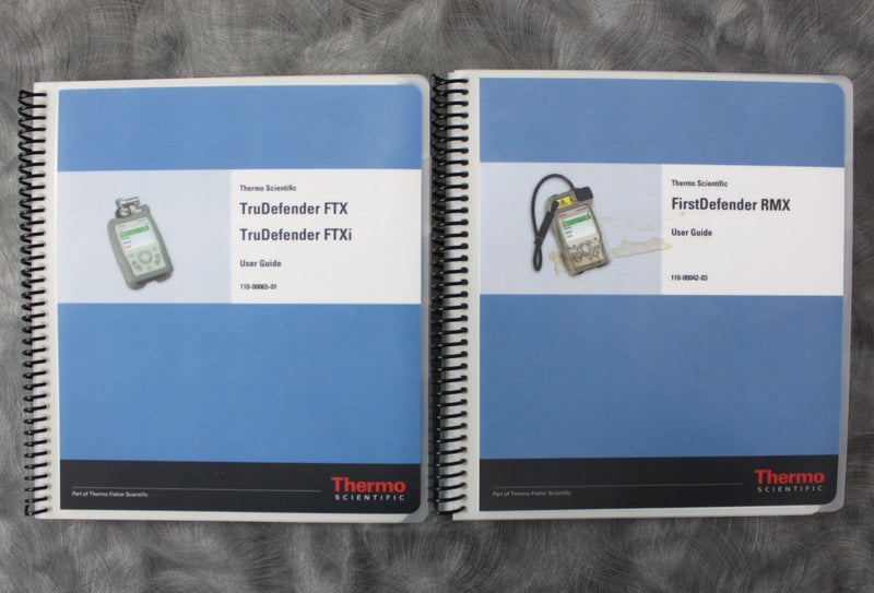 Thermo FirstDefender RMX & TruDefender FTX Handheld Chemical Detection Analyzer For Sale