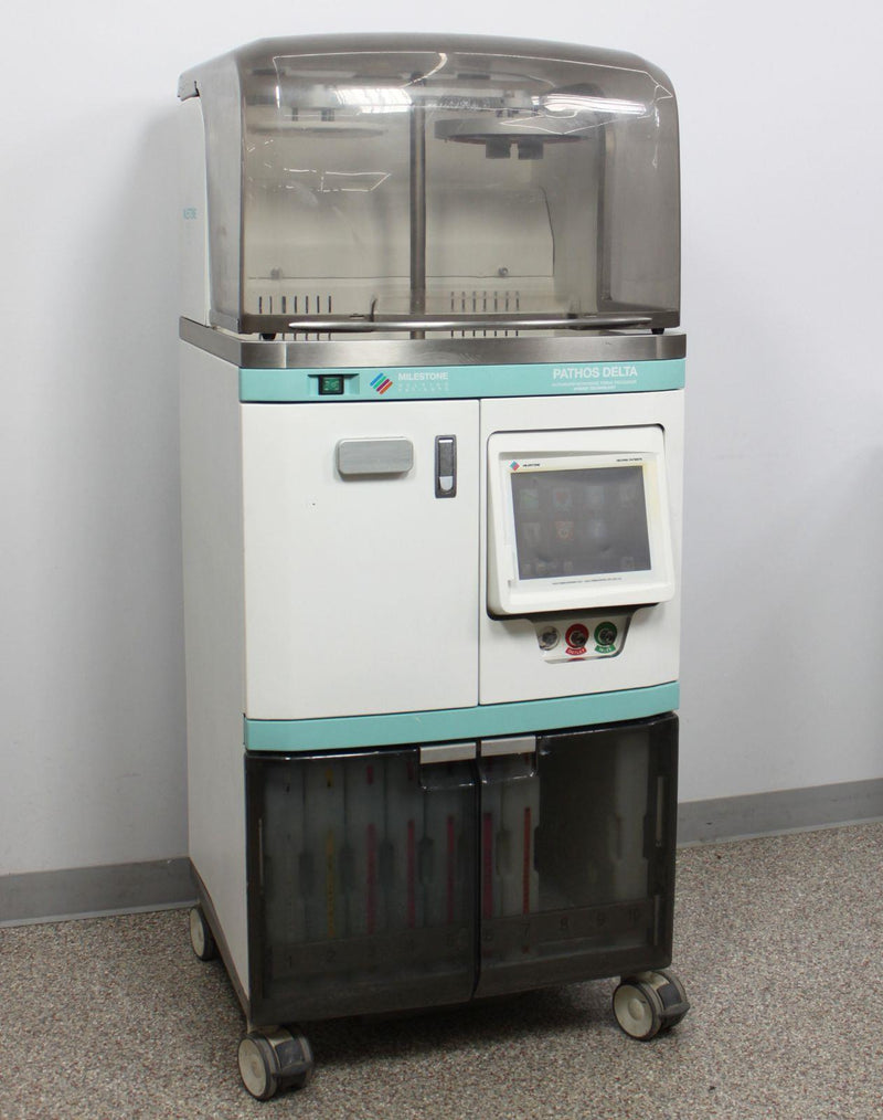 For Parts: Milestone PATHOS Delta Rapid Microwave Histoprocessor Tissue Processing System