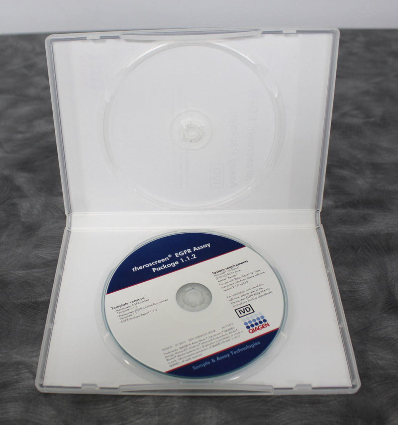 Qiagen ETI-00000042-A Therascreen EGFR Assay CD for Rotor Gene Q with Warranty