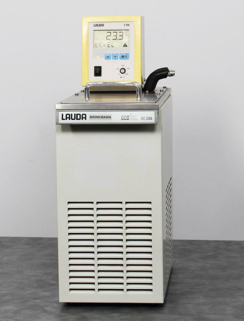 Used Guaranteed: Lauda Brinkmann Ecoline RE206 Water Bath -20C Chiller Circulator w/ E200 Head