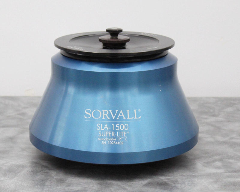 NLS Certified: Sorvall SLA-1500 Super-Lite Centrifuge Fixed Angle Rotor 6x250mL w/ Warranty