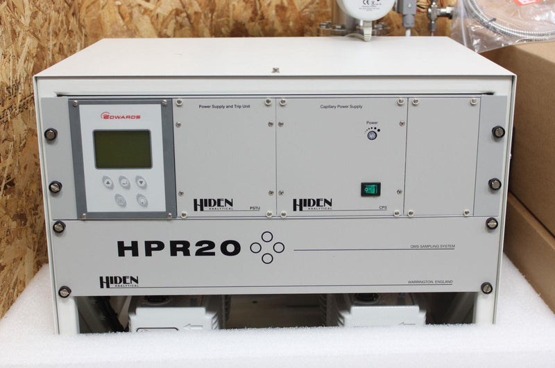 New: Hiden Analytical HPR20 Gas Analysis Mass Spectrometer In Original Crate
