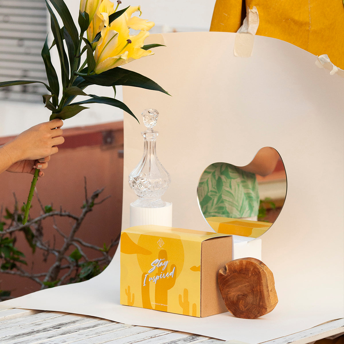 Stay Inspired - Gift Set