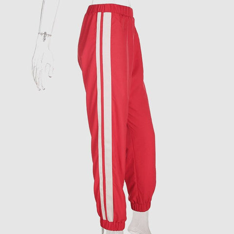 "Sweatpant  with side stripes ""Stressed Out"""