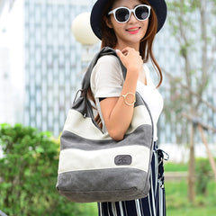 "Shoulder Bag ""Nice to meet you"""