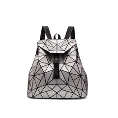 "Geometry Backpack ""Love Me Like A Reptile"""