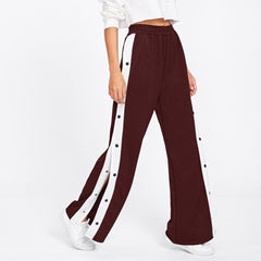 "Buttoned Side Split Sweatpants ""What doesn't kill you makes you stronger"""