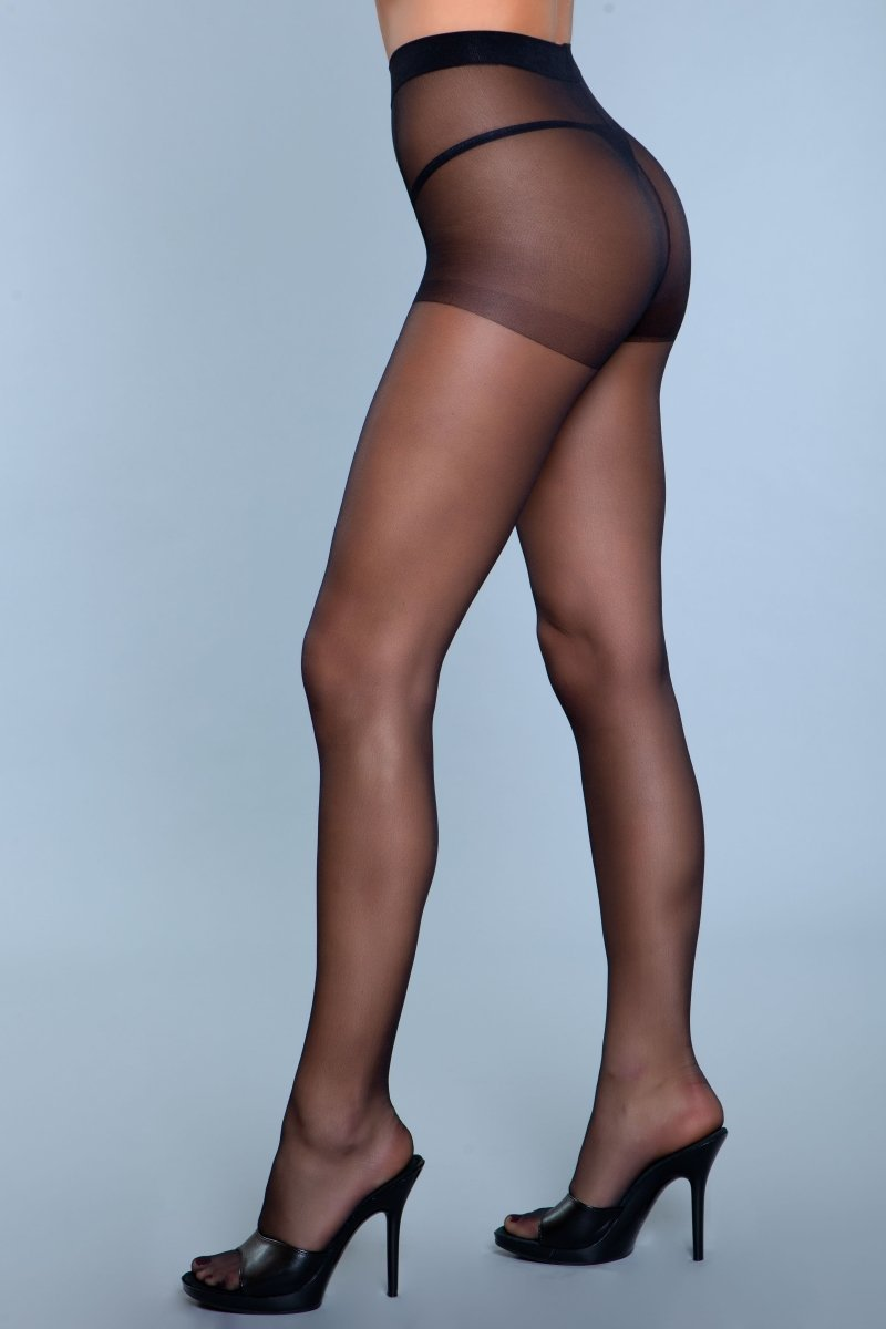 Skin To Skin Pantyhose Black