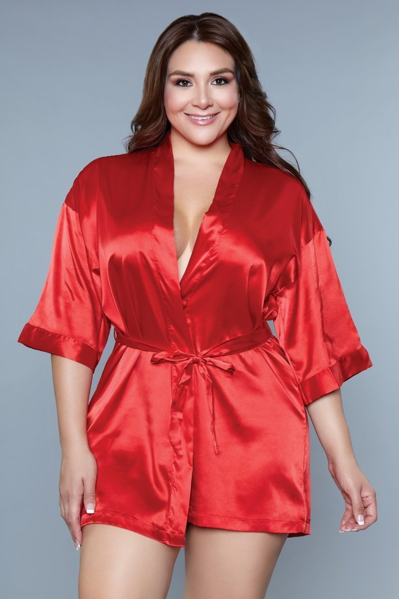 Home Alone Robe - Red