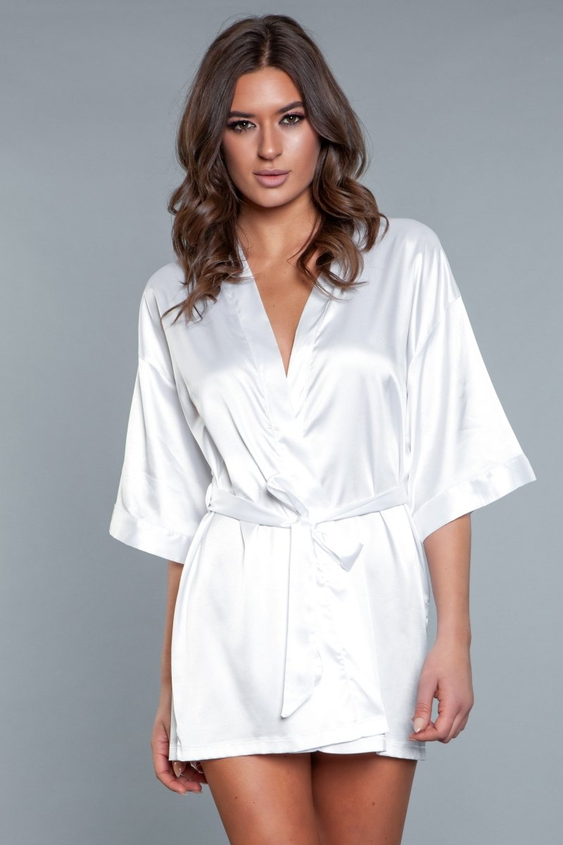 Home Alone Robe - White