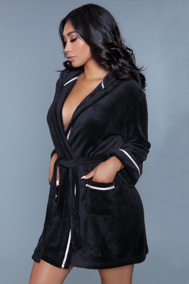 Alyssa Robe - Black