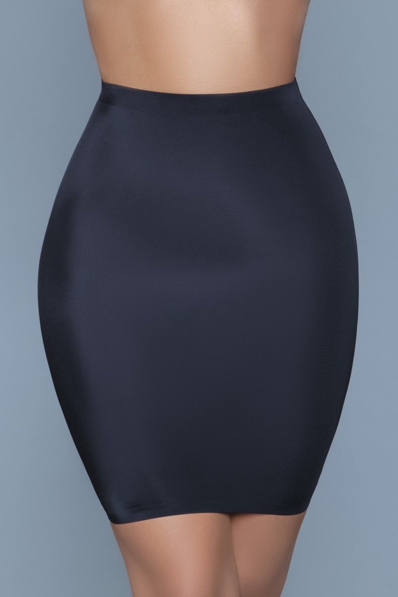 Slimin' Shapewear Slip Skirt - Black