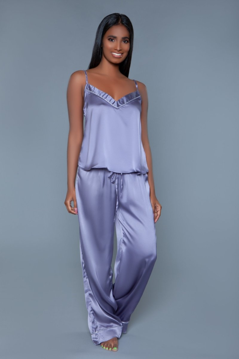 Madison Satin Pajama Set