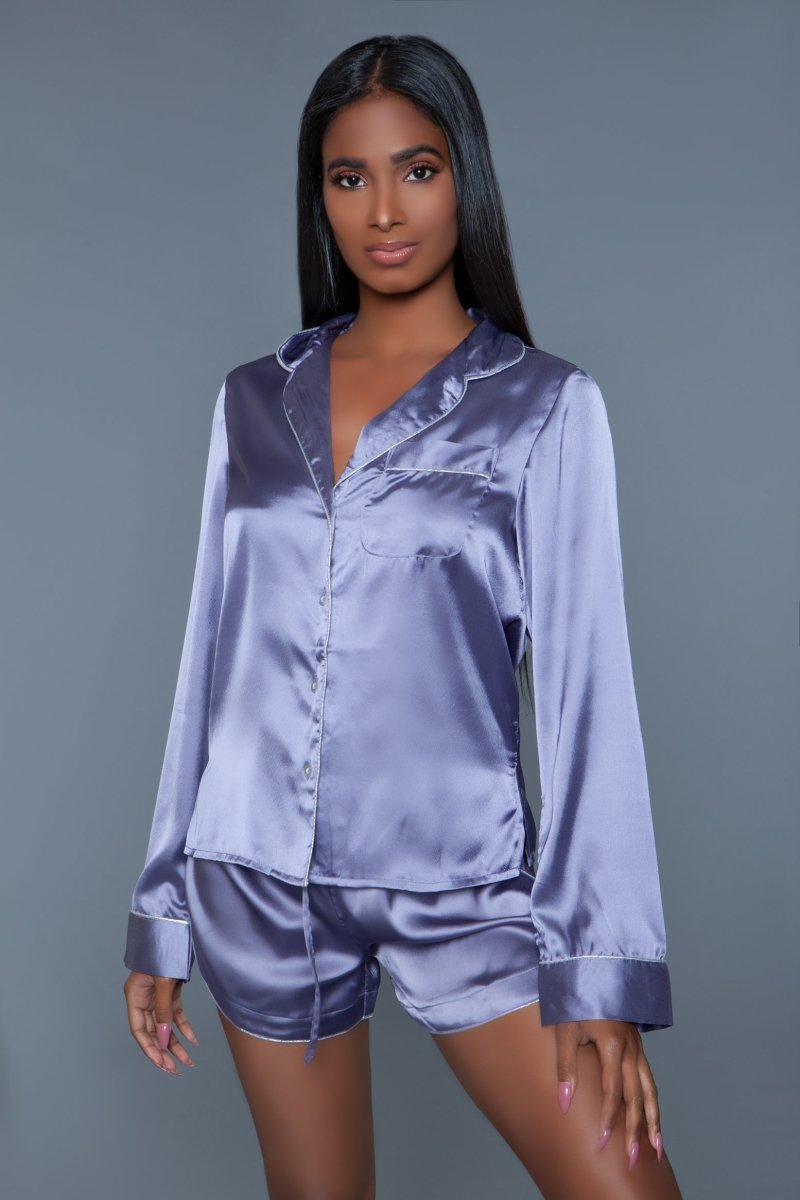 Liz Satin Pajama Set