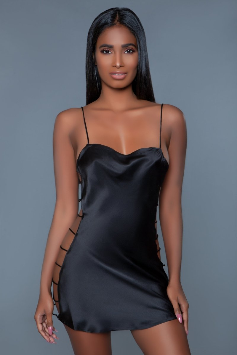 Brooklyn Satin Slip Chemise