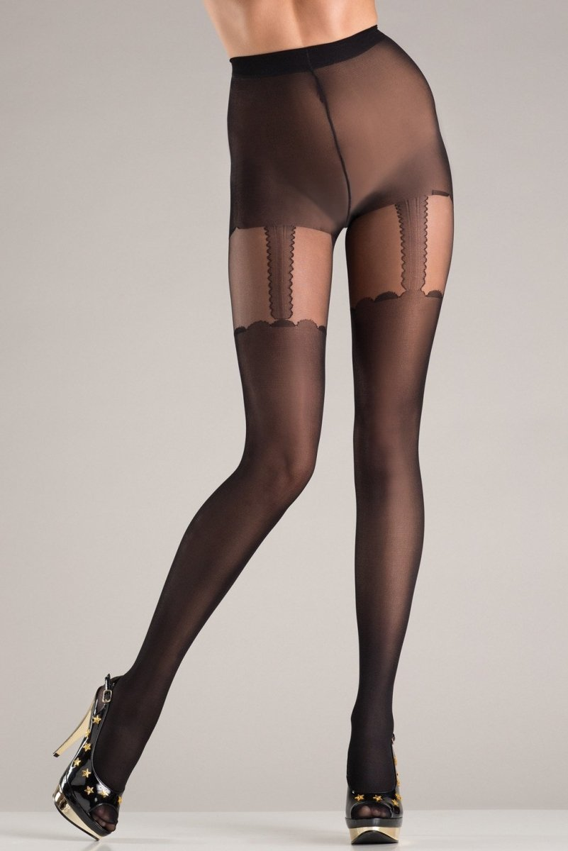 Suspended Secrets Pantyhose