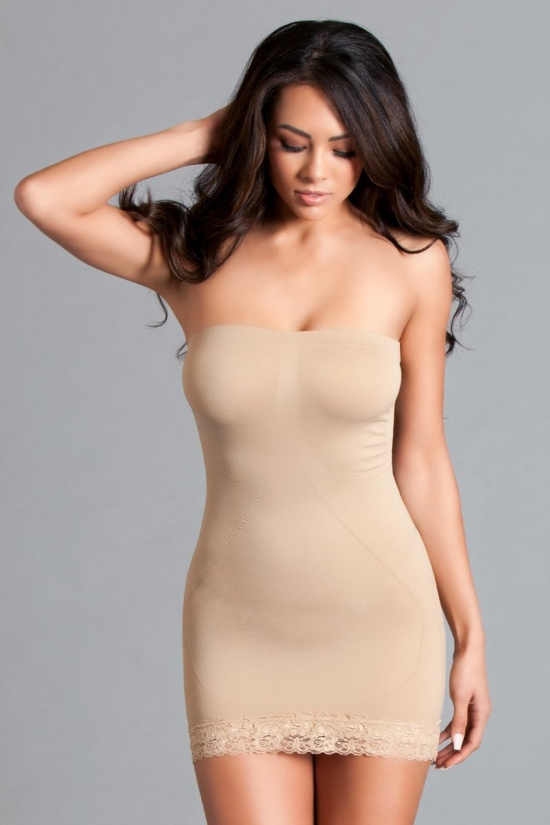 Tube Shapewear Dress - Nude