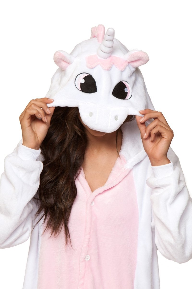 PINK UNICORN Adult Onesie