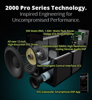 Product Launch - SVS 2000 Pro Series Subwoofers