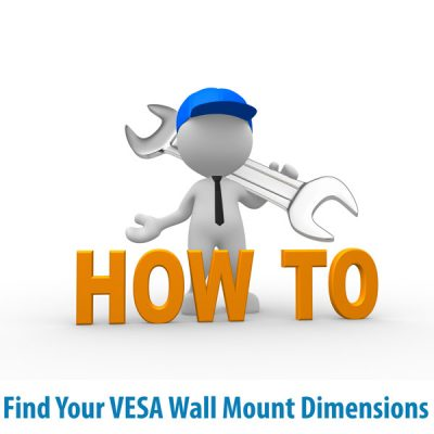 How to find the correct VESA wall mount size for your TV