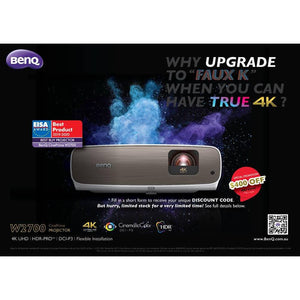 BenQ Offering $400 Discount On W2700 4K Projector