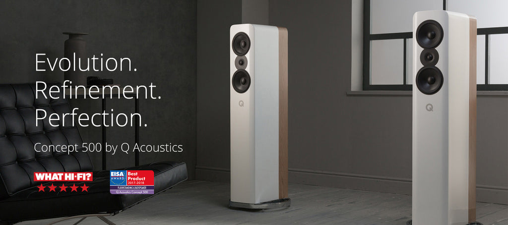 Q Acoustics Concept 500 Awards